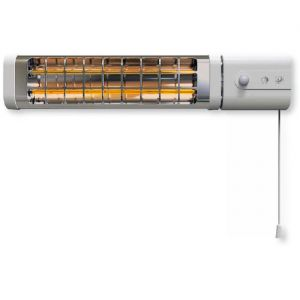 Estufa SP INFRAR. INFRARED 125 1200W MURAL 2B IP24